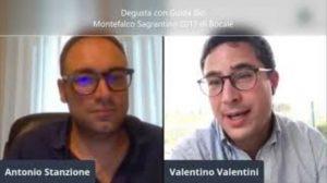Antonio Stanzione e Valentino Valentini