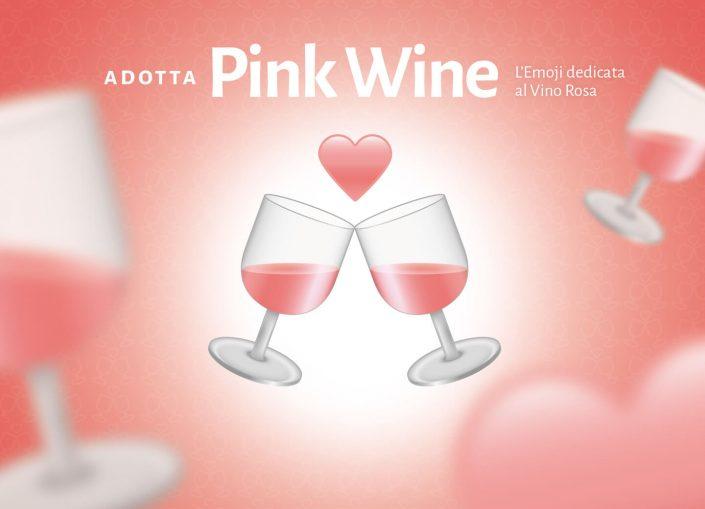 Emoji Pink Wine